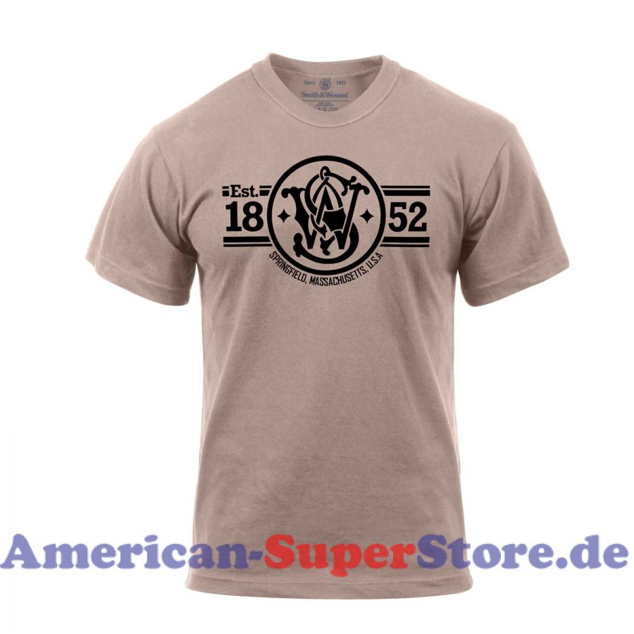 Smith & Wesson Gegründet 1852 T-Shirt