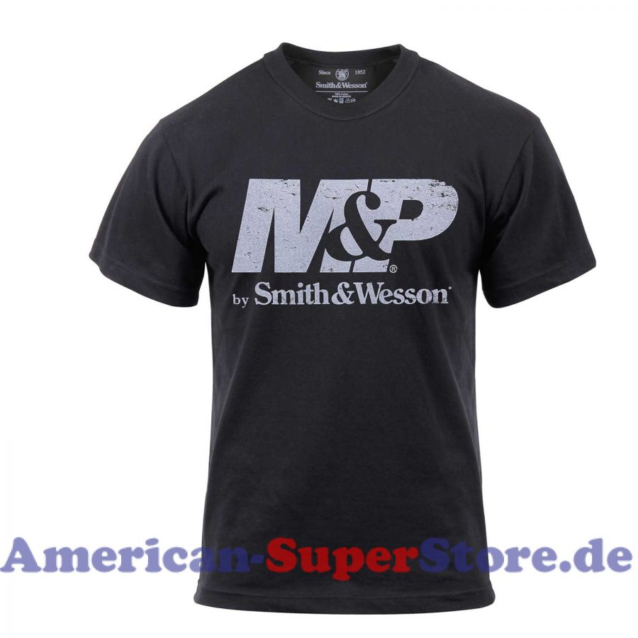 Smith & Wesson M & P-Logo-T-Shirt