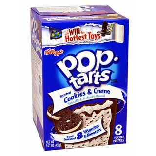 1x8 Kelloggs Pop Tarts Frosted Cookies & Cream