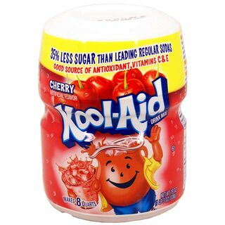 Kool Aid Barrel Cherry, Sugar-Sweetend Soft Drink Mix