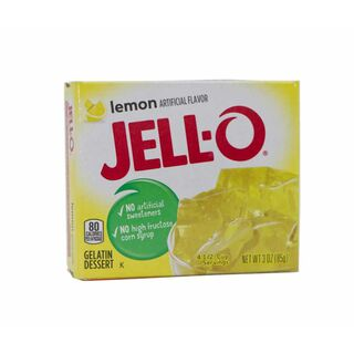 Jell-O Gelatin Dessert Lemon, Wackelpudding USA