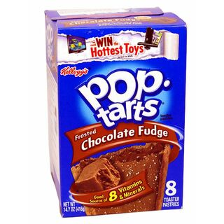 1x8 Kelloggs Pop Tarts, Frosted Chocolate Fudge