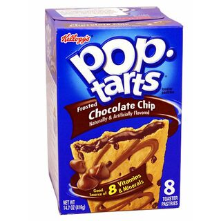1x8 Kelloggs Pop Tarts, Frosted Chocolate Chip