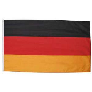 Fahne Deutschland, Polyester, Gr. 90 x 150 cm