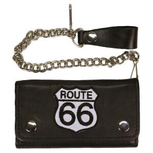 Geldbörse, Biker, Trucker Wallet mit Route 66...