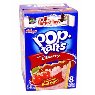 1x8 Kelloggs Pop Tarts Frosted Cherry