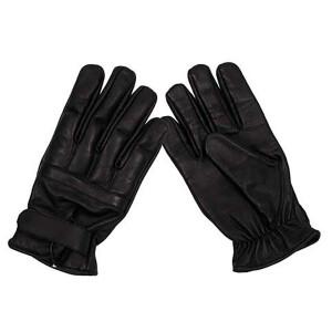 Lederhandschuhe, schwarz, mit Quarzsandfüllung,...