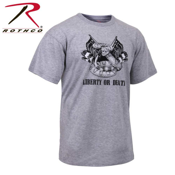 Herren T-Shirt von Rothco Liberty or Death