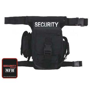 """Hip Bag, """"SECURITY"""", schwarz, Bein- und..."""
