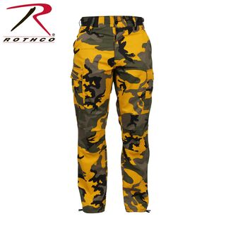 Colour Camouflage Tactical BDU-Hose, Farbe: Stinger Yellow von Rothco