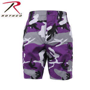 Rothco Colored Camouflage, BDU Shorts, Farbe: Ultra...