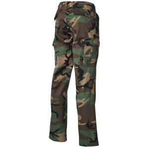 US Kampfhose BDU, woodland, US BDU BATTLE DRESS UNIFORM
