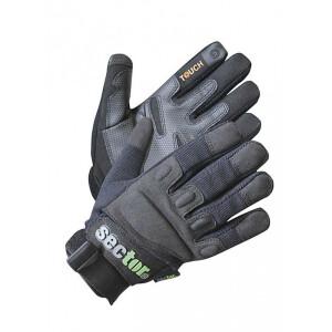 Sector  Security Handschuh mit EVA Gummiprotektoren und...