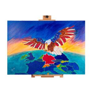 Adler Weißkopfseeadler American Eagle Europa...