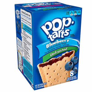 "1x8 Kelloggs Pop Tarts ""Blueberry unfrosted"""