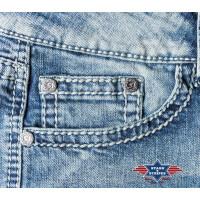 "Damen Jeans Hose Bootcut-Jeans ""Lexi"" v. Stars&Stripes"