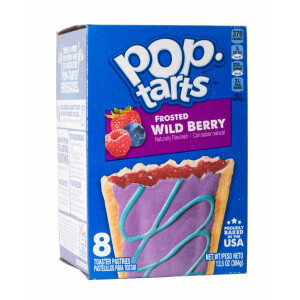 """1x8 Kelloggs Pop Tarts """"Frosted Wild Berry"""""""