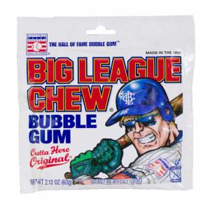 Big League Chew Bubble Gum, 60g