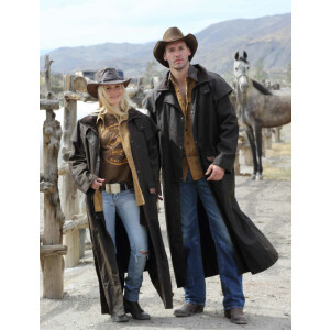 Scippis Riding Coat Cowboy Staubmantel Reitermantel...