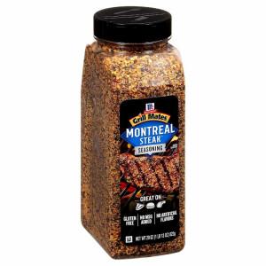 McCormick Grill Mates Montreal Steak Seasoning, 822 Gramm