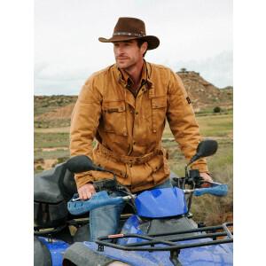 Belmore Canvas Jacket, Outdoorjacke Motorradjacke, Marke...